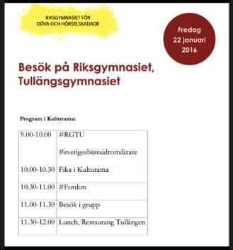 Program 22jan