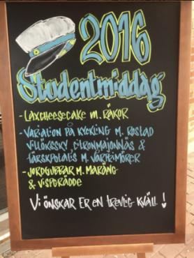 Studentmeny